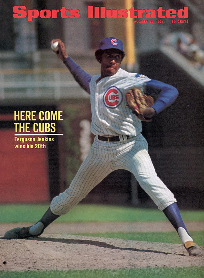 Here Come The Cubs Ferguson Jenkins Wins His 20th Sports Illustrated Cover Photograph by Sports Illustrated
