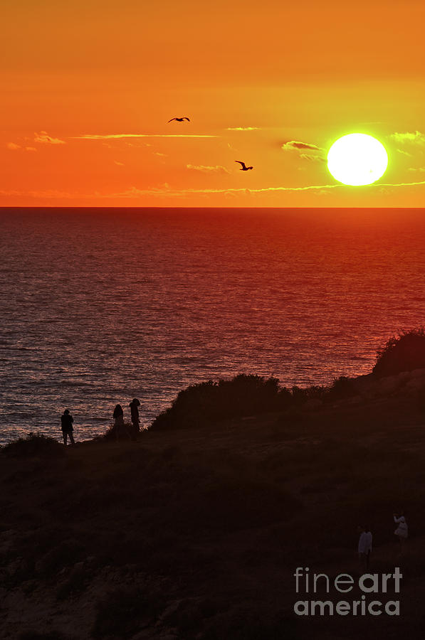 Here comes the Sunset in Carvoeiro by Angelo DeVal