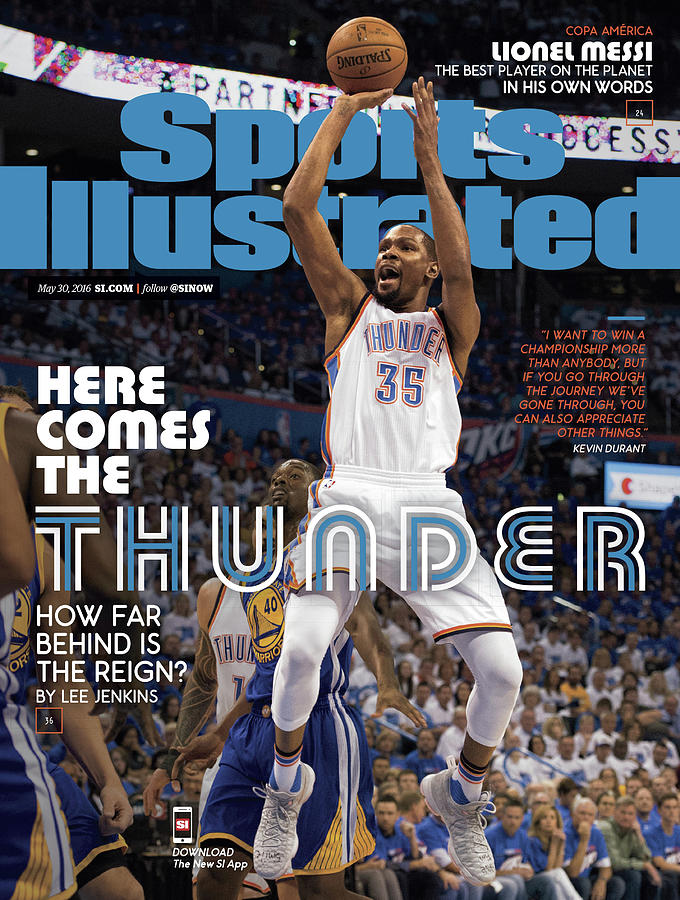 Here Comes The Thunder How Far Behind Is The Reign Sports Illustrated Cover Photograph by Sports Illustrated