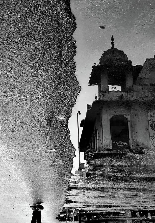 Heritage Tower Reflection by Prakash Ghai