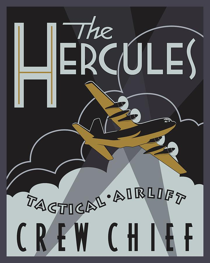 Herk Deco - Crew Chief Edition by Michael Brooks