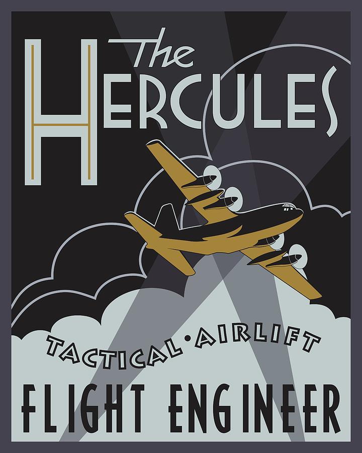 Herk Deco - Flight Engineer Edition by Michael Brooks