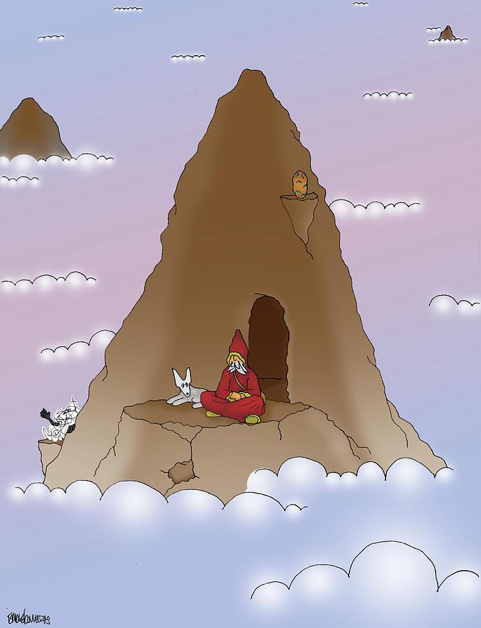 Hermit Guru by Ismael Cavazos