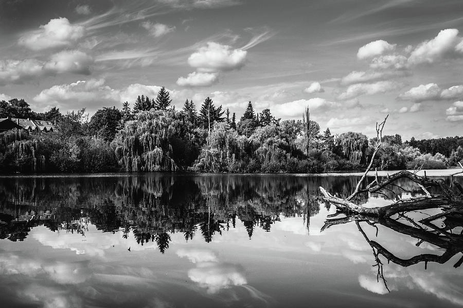Landscape Photograph - Hermsdorfer See by Ute Herzog