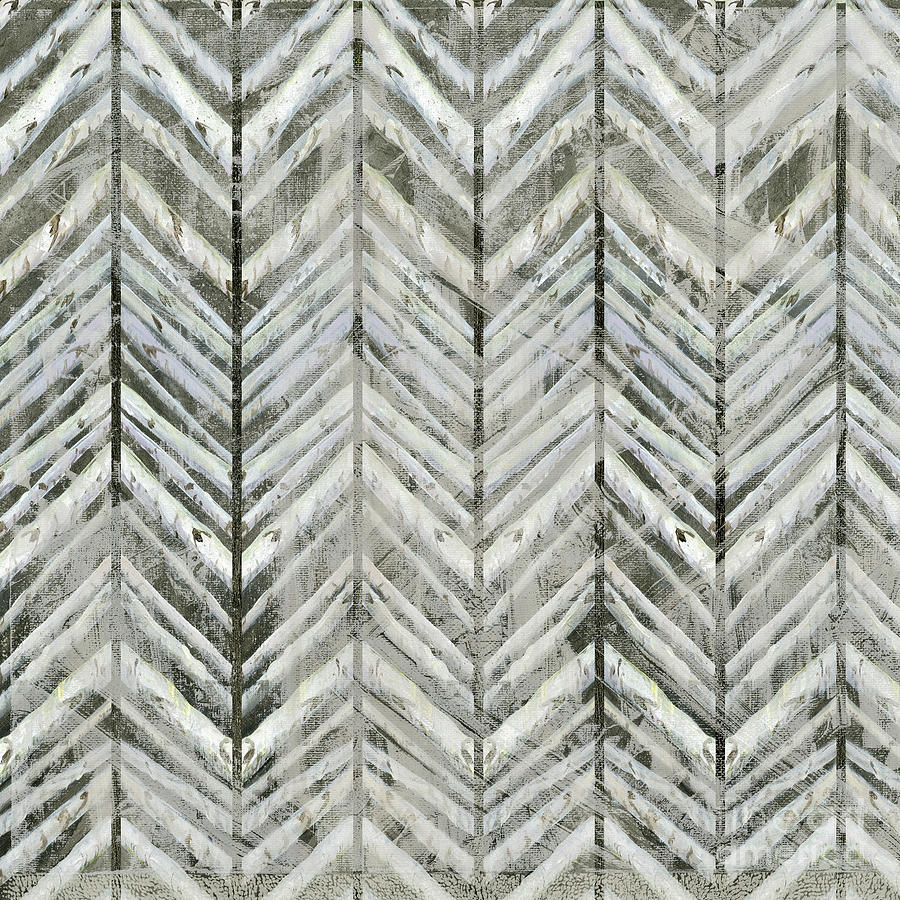 Herringbone Lodge Abstract Modern Pattern by Audrey Jeanne Roberts