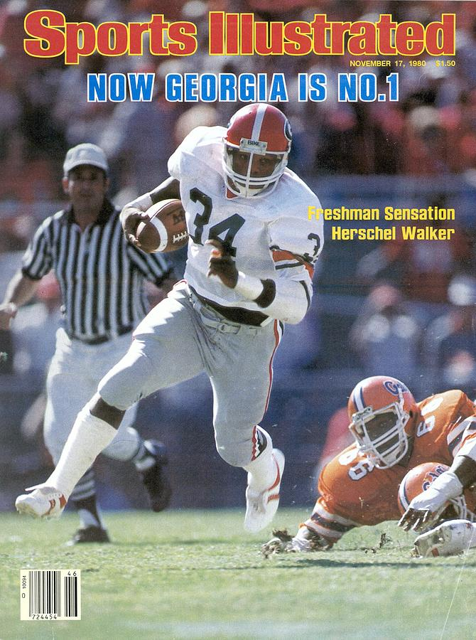 Herschel Walker, November 17, 1980 Sports Illustrated Cover Sports Illustrated Cover Photograph by Sports Illustrated