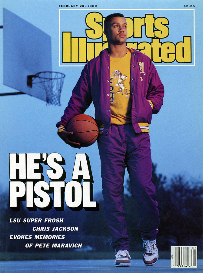 Hes A Pistol Lsu Super Frosh Chris Jackson Evokes Memories Sports Illustrated Cover Photograph by Sports Illustrated