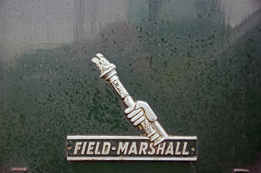 HESKIN VINTAGE RALLY.  Field Marshall Logo. by Lachlan Main