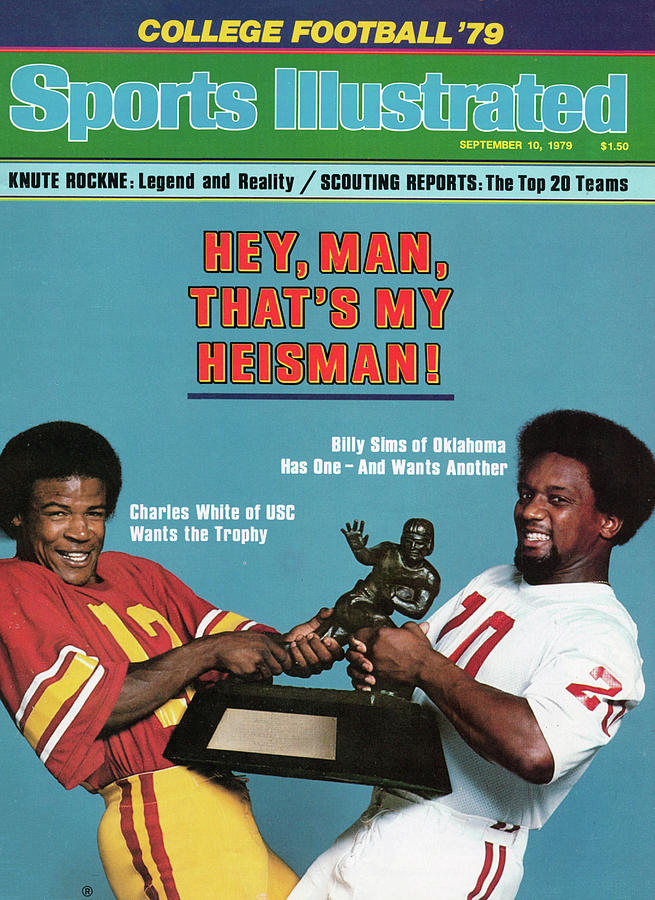 Hey, Man, Thats My Heisman 1979 College Football Preview Sports Illustrated Cover Photograph by Sports Illustrated