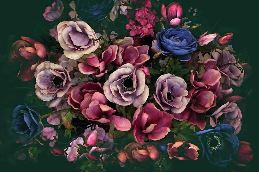 Flowers Photograph - Keepsake by Jessica Jenney