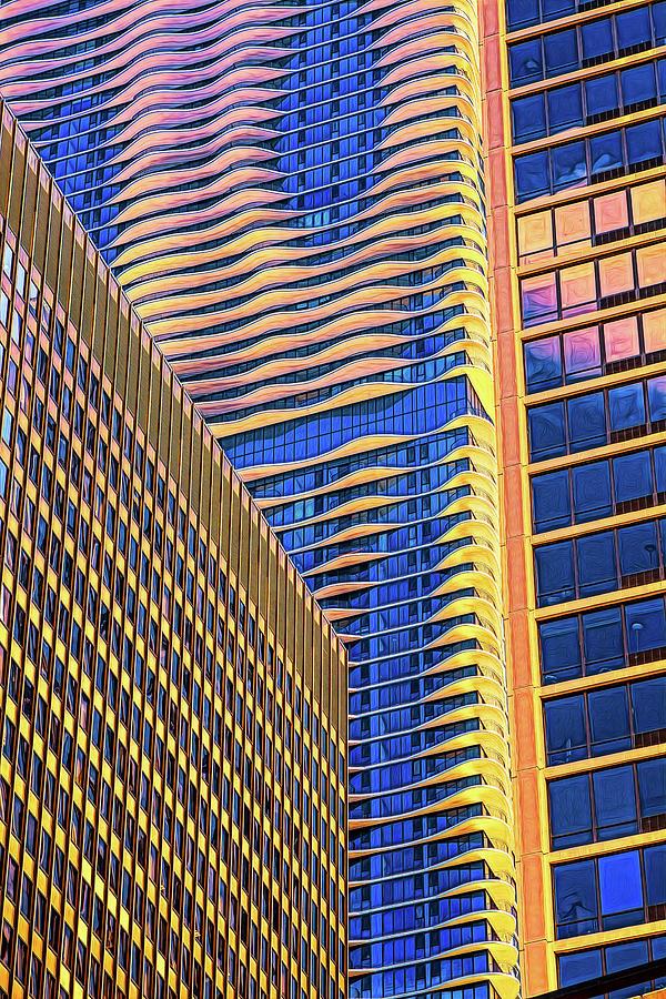 Hi Rise Patterns by Robert FERD Frank