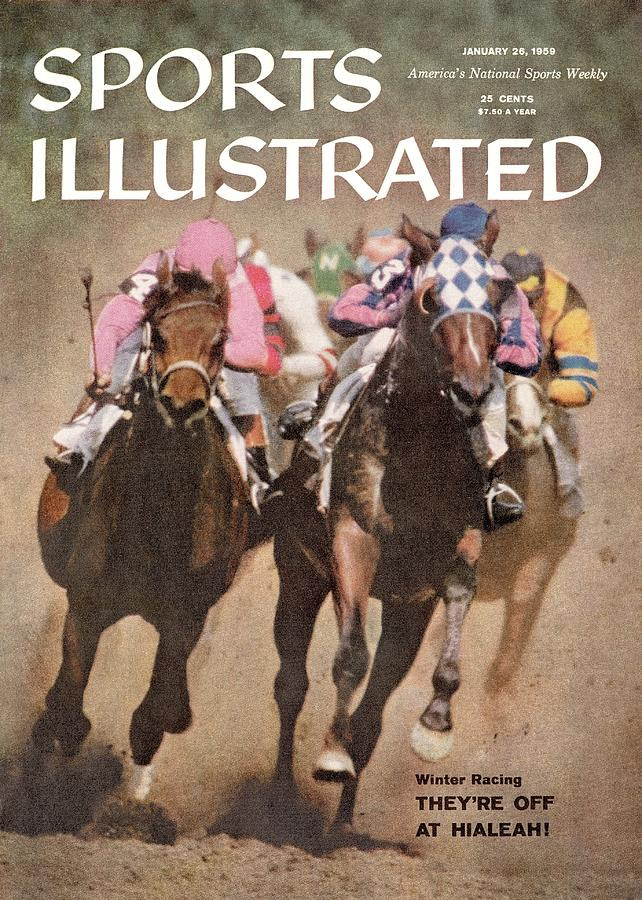 Hialeah Park Racetrack Sports Illustrated Cover Photograph by Sports Illustrated
