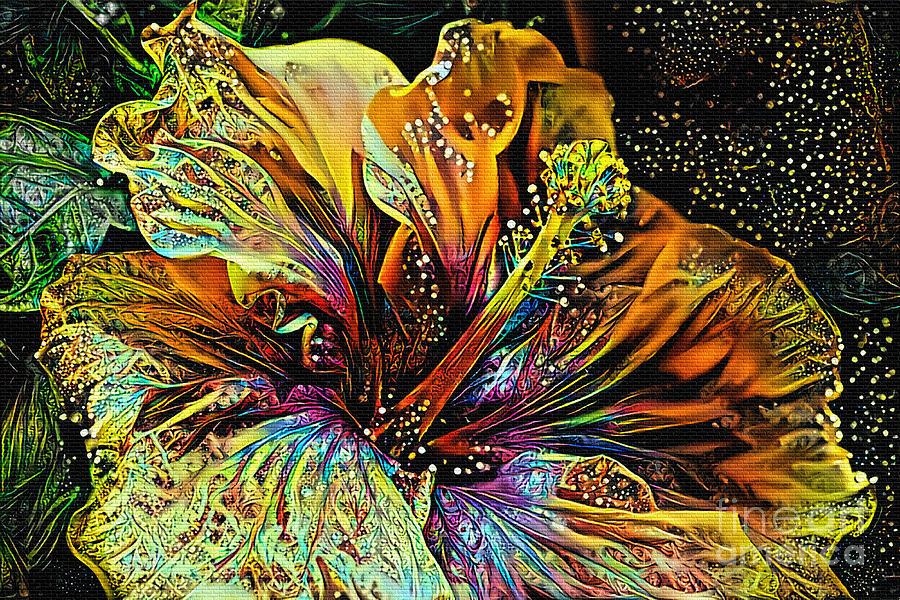 Hibiscus Art by Kaye Menner by Kaye Menner