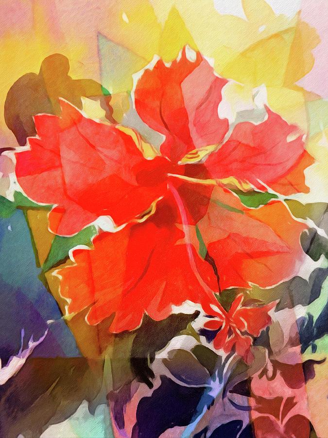 Hibiscus Flower by Lutz Baar