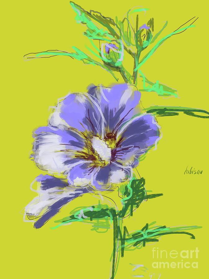 Hibiscus Lilac by Go Van Kampen