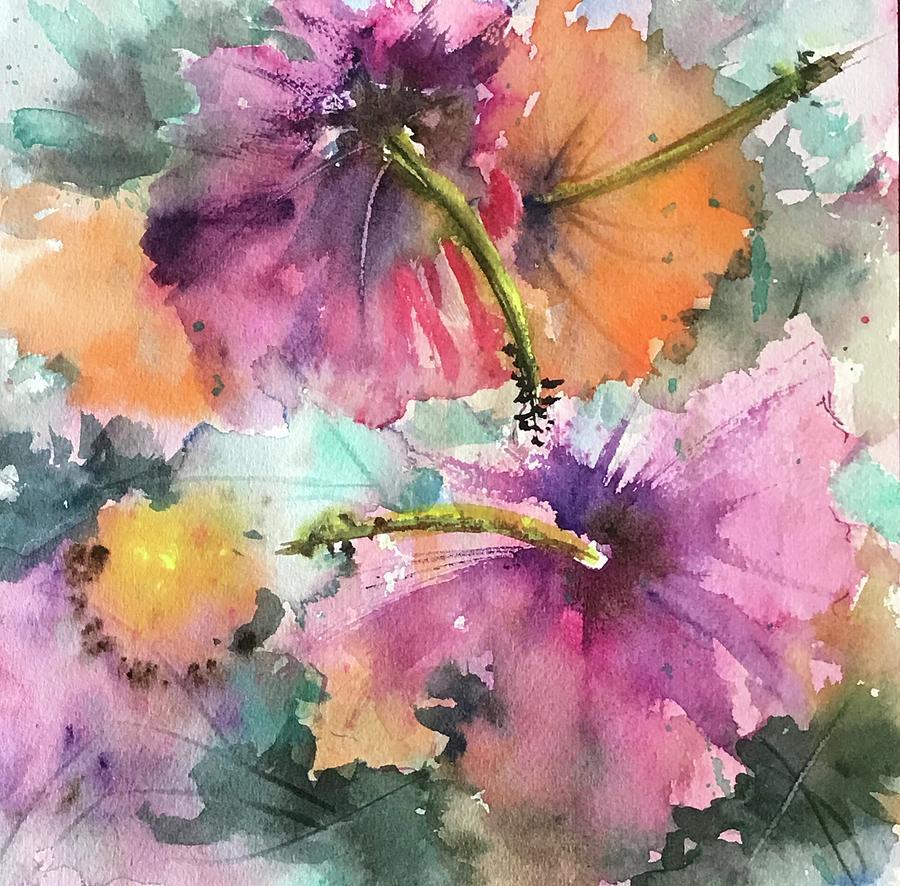 Hibiscus Love by Florence Ferrandino