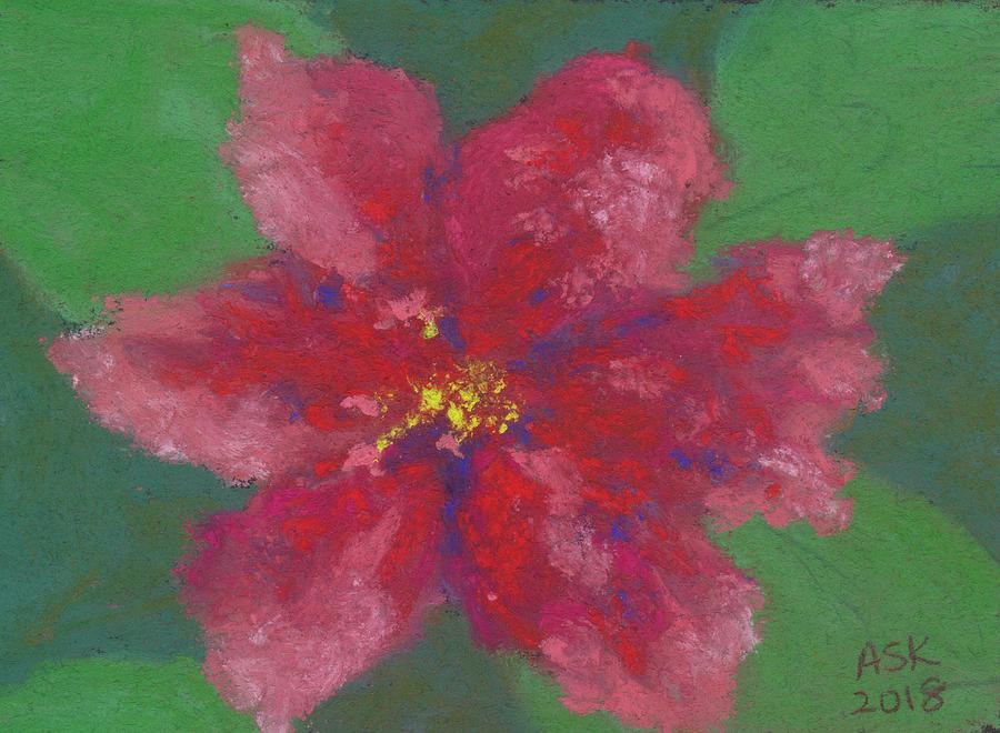 Hibiscus Study by Anne Katzeff
