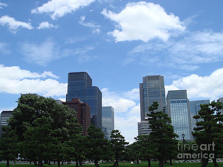 Hibiya Park, Chiyoda Ward, Tokyo by Yvonne Johnstone