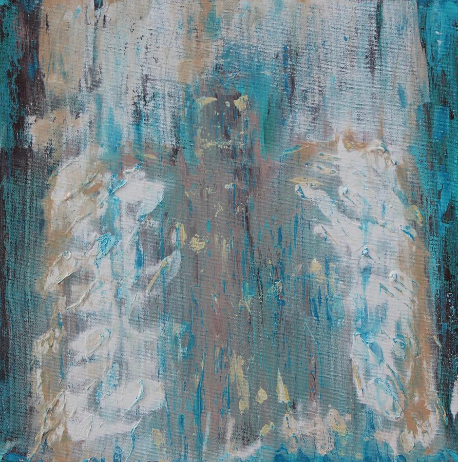 Hidden Always Angel Painting by Kelly Gowan