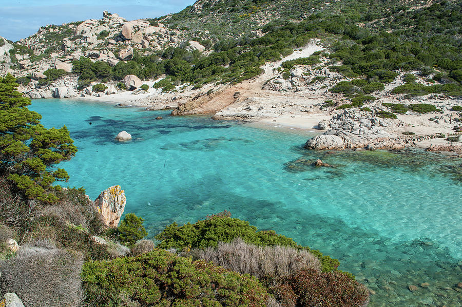Hidden Beach In Sardinia Photograph by Stefano Oppo