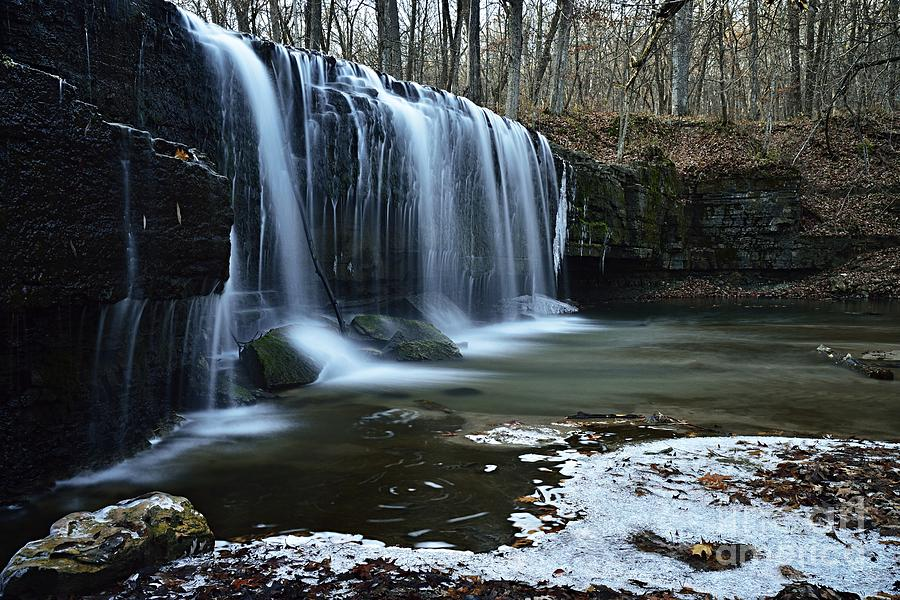 Hidden Falls by Larry Ricker