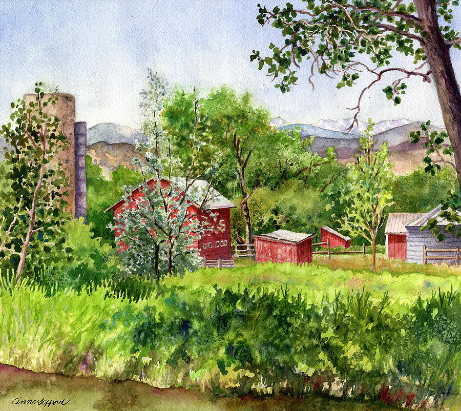Hidden Farm by Anne Gifford