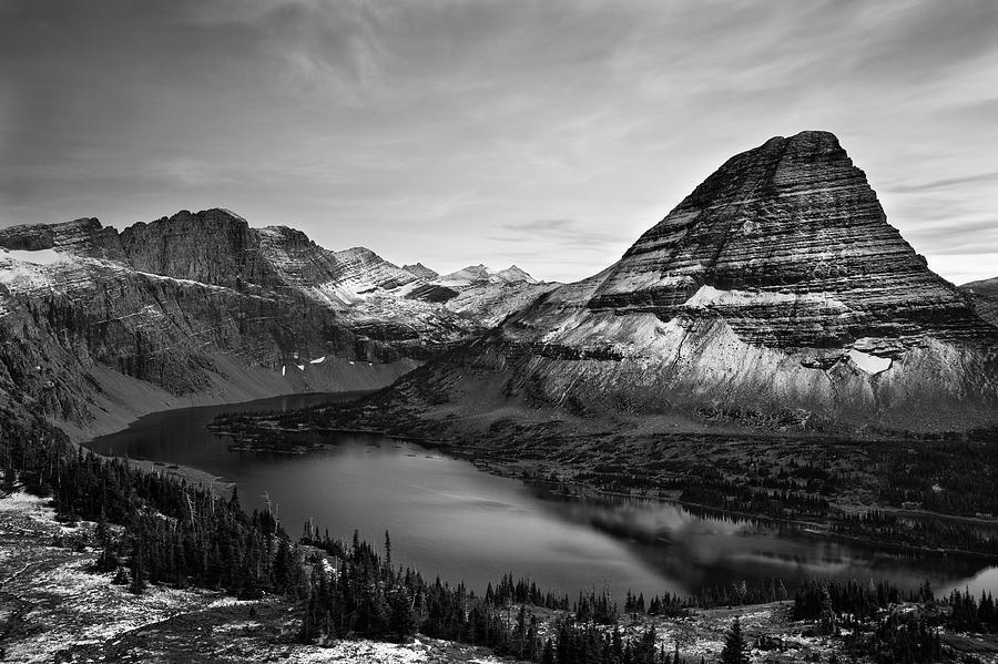 Hidden Lake Photograph by Jesse Estes