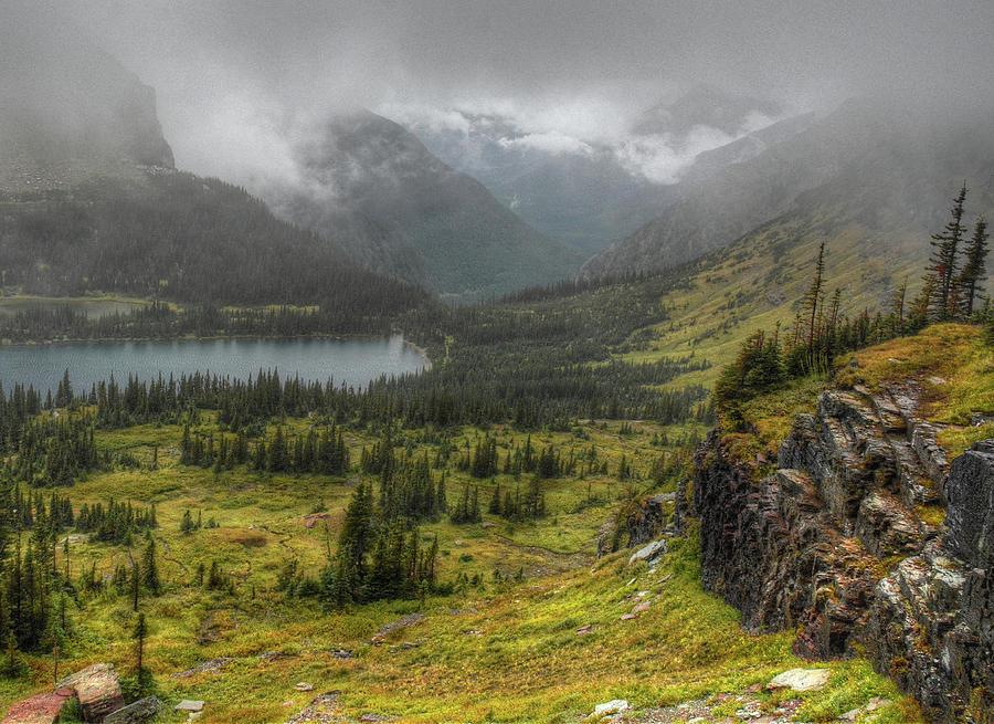 Hidden Lake by Michael Kirk
