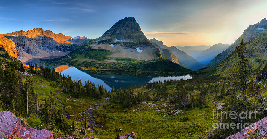 Hidden Lake Summer Gold by Adam Jewell