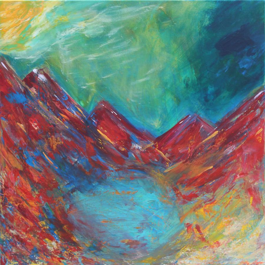 Hidden Taos Painting by Kelly Gowan