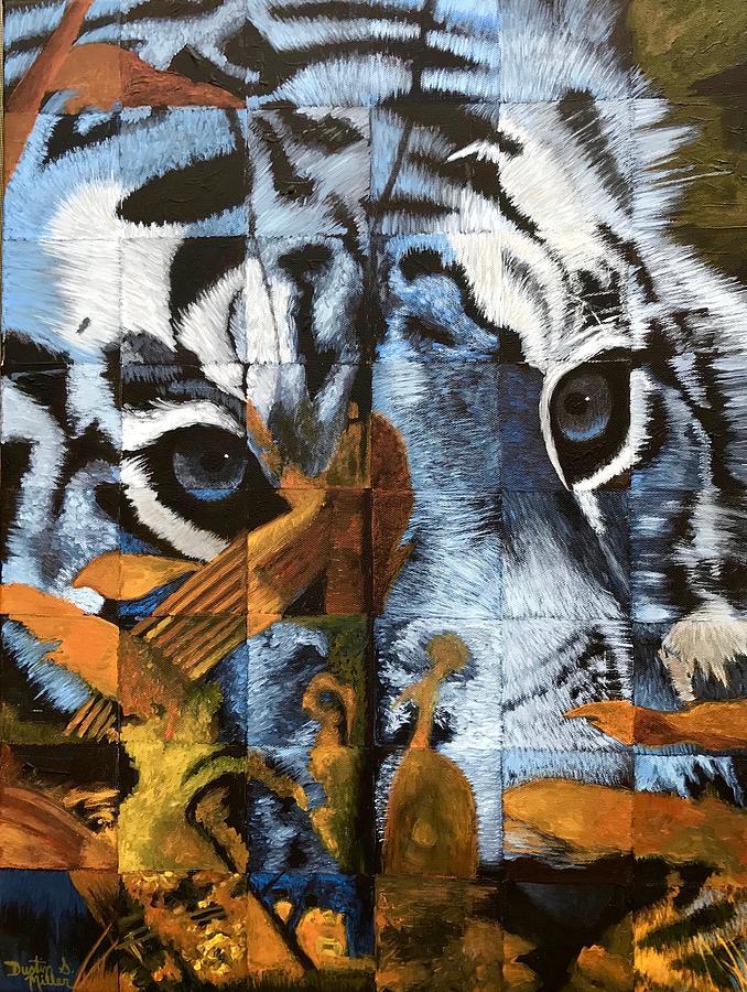 Hidden Tiger by Dustin Miller