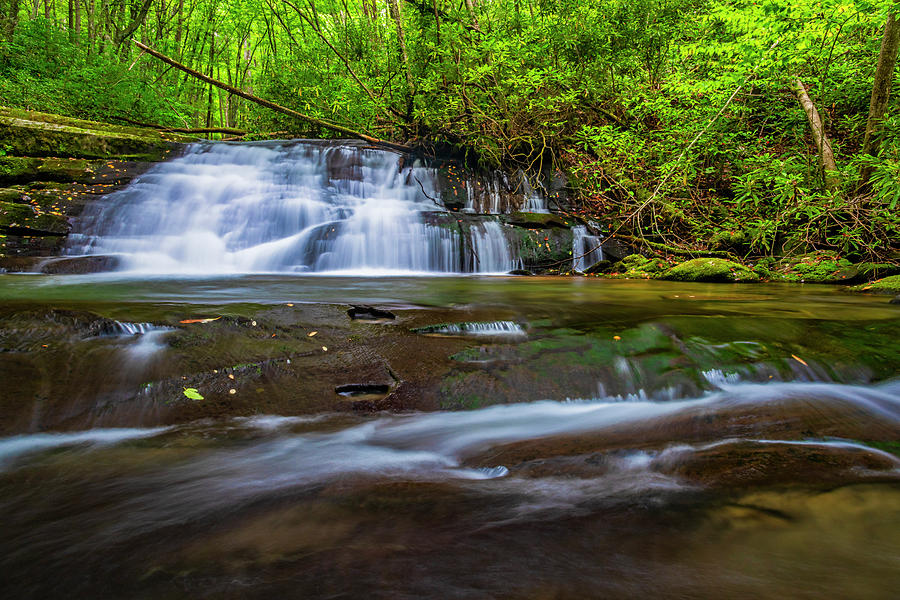 Hidden waterrfall by Andy Crawford