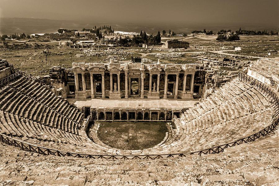 Hierapolis Coliseum by Maria Coulson