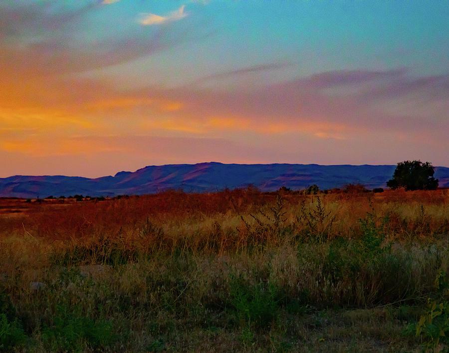 High Desert Sunset by Jeanne Jackson