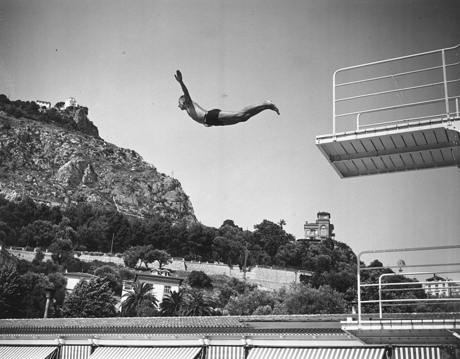 High Dive Photograph by A. Hudson