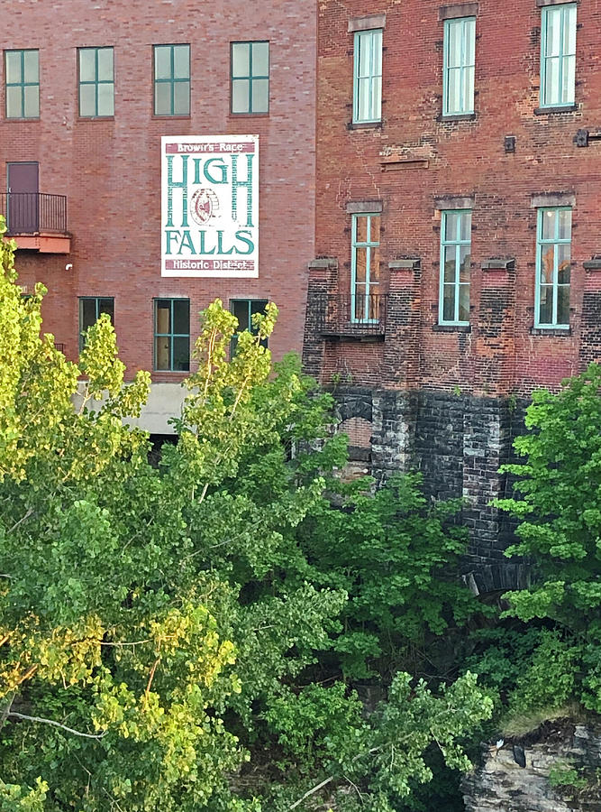 High Falls Historic District by Aimee L Maher ALM GALLERY