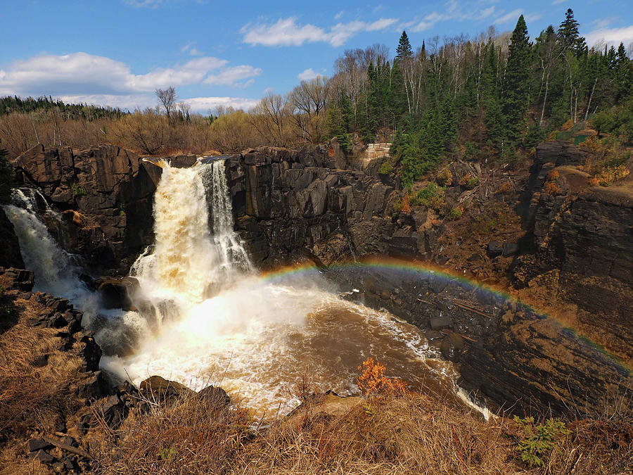 High Falls Rainbow by James Peterson