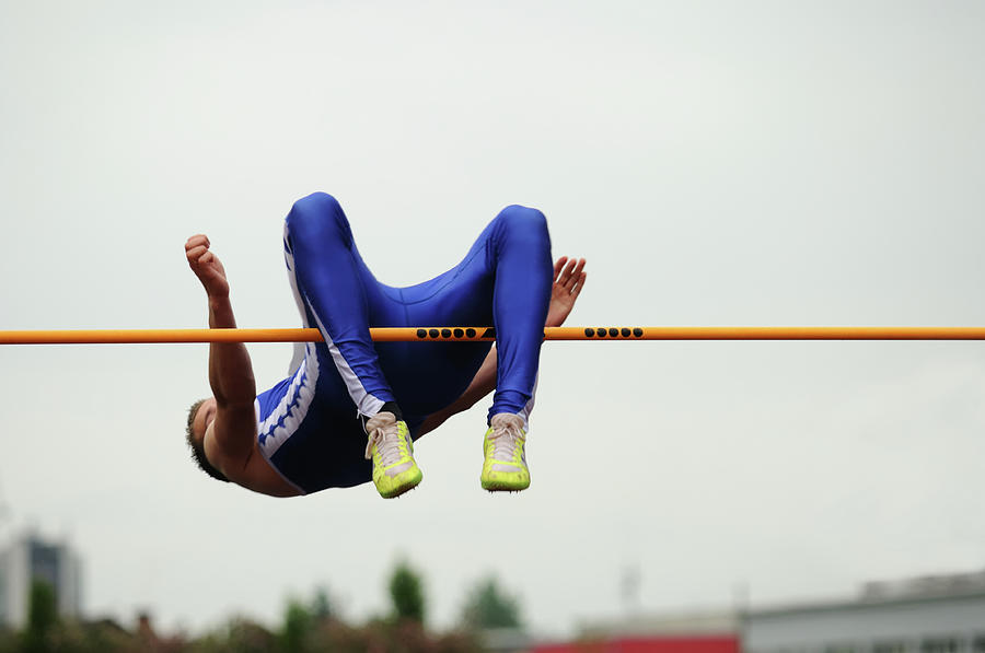 High Jump Photograph by Technotr