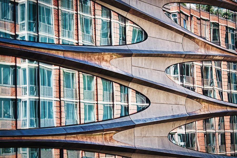 High Line Window Reflections - Manhattan by Stuart Litoff