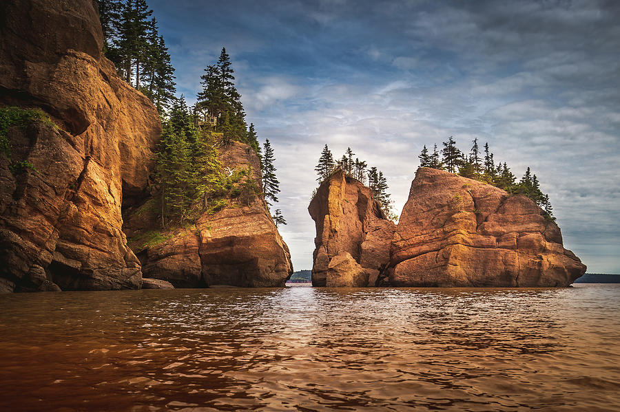 High Tide At Hopewell Rocks, New Brunswick by Brian Keenan