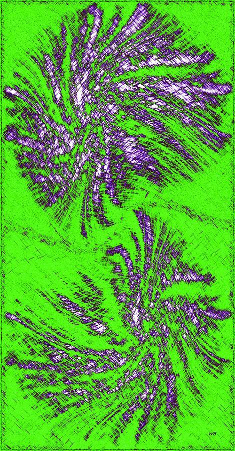 Highland Flora 3 Digital Art