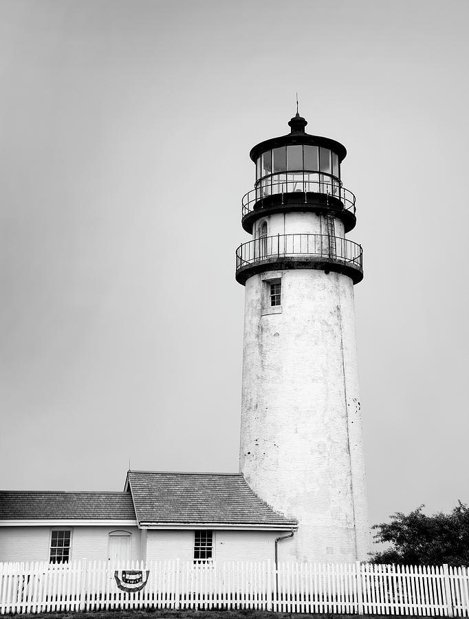 Highland Light Photograph - Highland Light - Cape Cod National Seashore by Brendan Reals