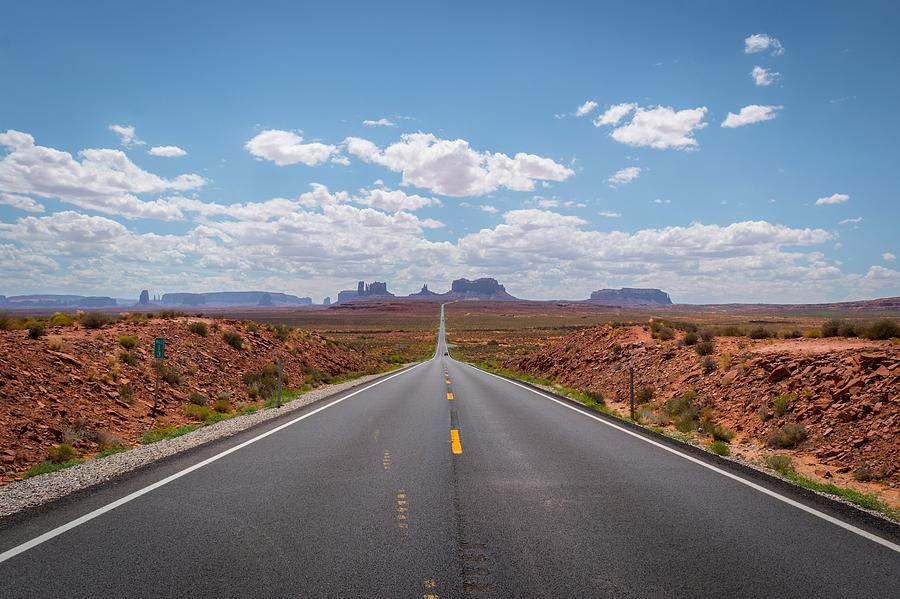 Highway 163, Monument Valley by Michelle McConnell