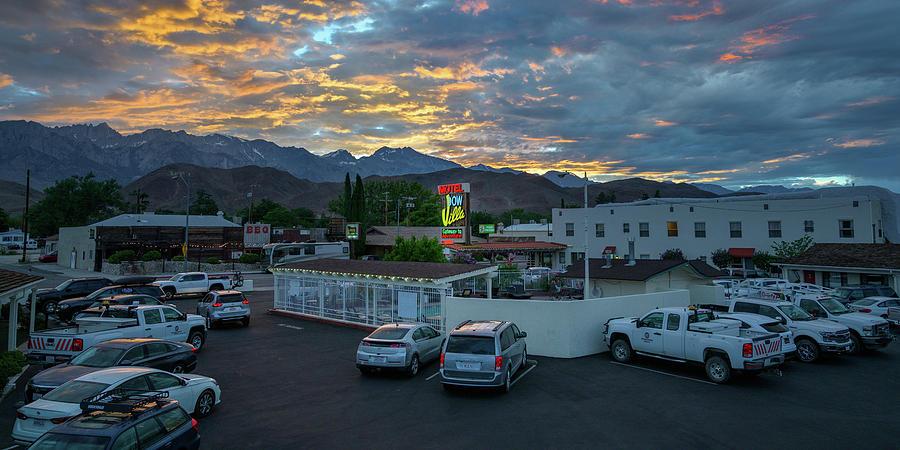 Dow Villa, Highway 395, Lone Pine, CA by Andy Romanoff