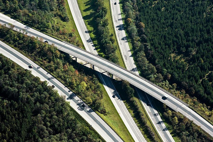Highway Bridge Photograph by Daniel Reiter