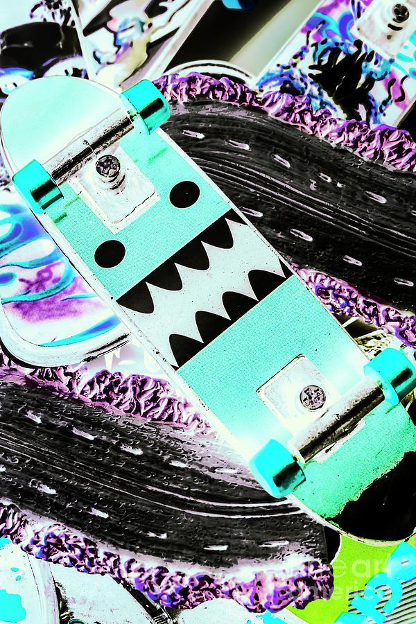 Street Photograph - Highway Monster Decks by Jorgo Photography - Wall Art Gallery