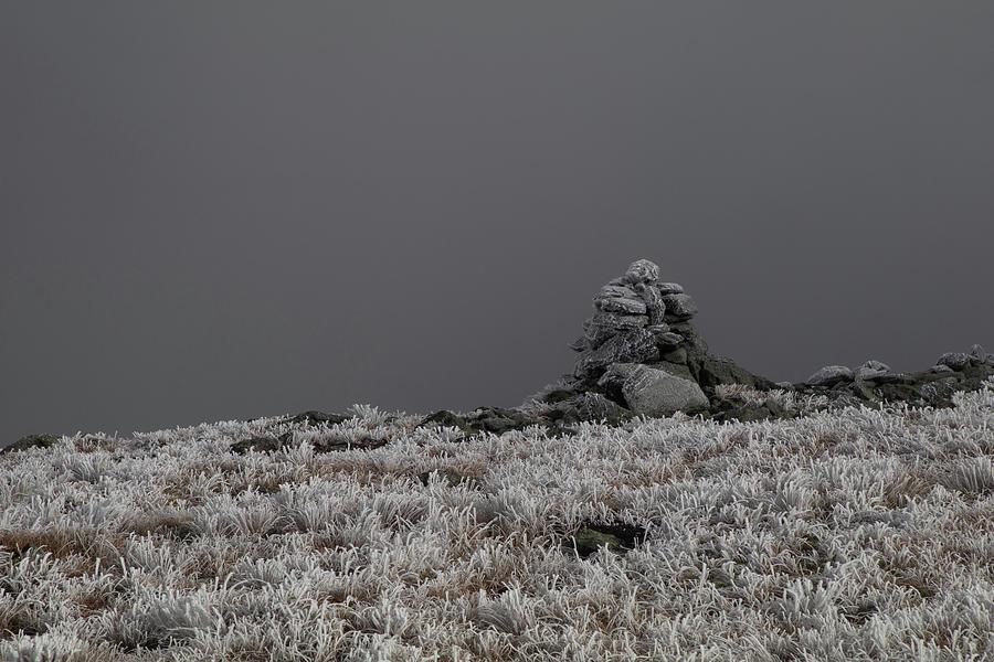 Hiking Cairn on Mount Washington by Jeff Folger
