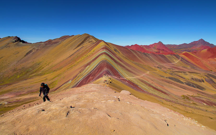 Hiking Rainbow Mountain, Peru by Venetia Featherstone-Witty