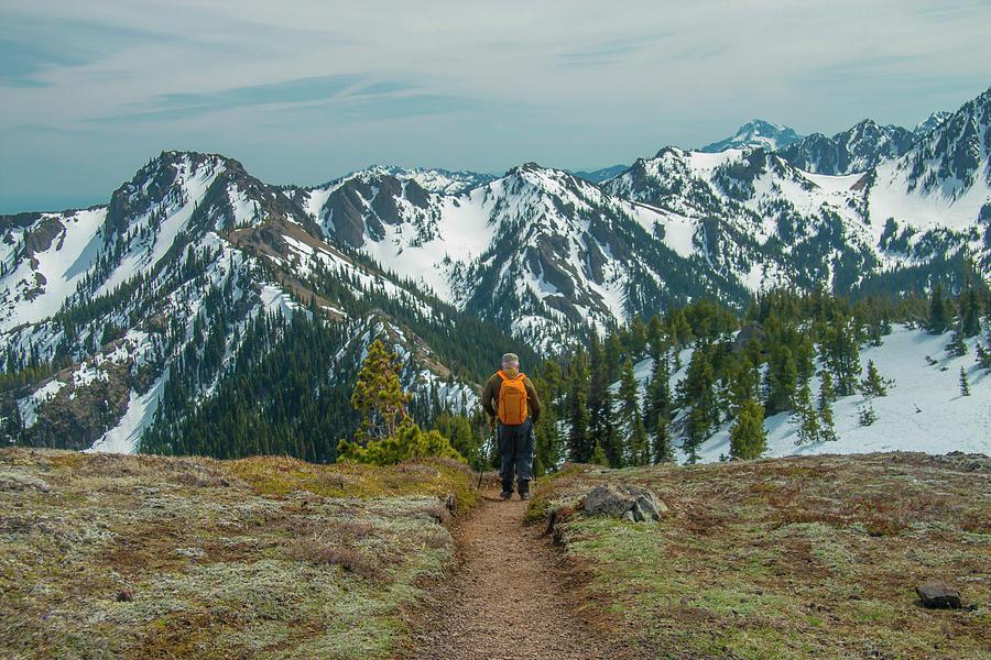 Hiking Toward Heaven by Doug Scrima