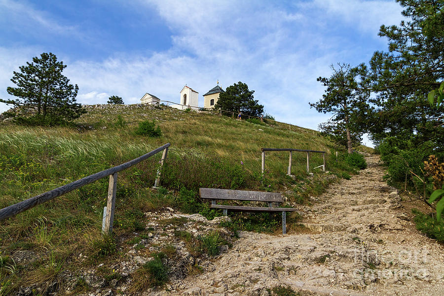 Hiking Trail to Mikulov Calvary by Les Palenik